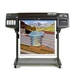 HP Designjet 1050c plus 36 inch poster papier