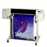 HP Designjet 2500cp 36 inch poster papier