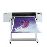 HP Designjet 3000cp 36 inch poster papier