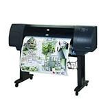 HP Designjet 4500ps 42 inch poster papier