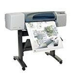 HP Designjet 500 Plus 24 inch poster papier