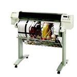 HP Designjet 750c 36 inch poster papier