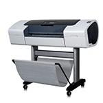 HP Designjet T1100 PS 24 inch poster papier