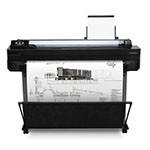 HP Designjet T520 24 inch poster papier