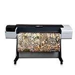HP Designjet T1200 44 inch canvas