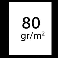 80 gr plotterpapier