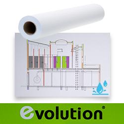 Wasserdichtes PVC auf einer rolle matte A0 Übergröße